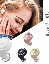 billige -LITBest A4 Telefon Headset Trådløs EARBUD Bluetooth 5.0 Med mikrofon