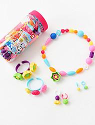 Недорогие -Дети образовательные и обучающие игрушки ремесла бисер игрушка ребенок DIY часть бусы украшений ручной работы