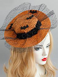 Недорогие -Жен. Винтаж модный Мода Ткань Сплав шляпа Заколки для волос Halloween Тематическая вечеринка