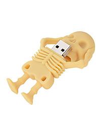 Недорогие -Майку череп USB флэш-накопитель скелет usb3.0 U диск Pen Drive модель черепа карта памяти 256 ГБ
