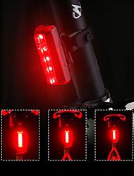 Недорогие -Светодиодная лампа Велосипедные фары задние фонари LED Велоспорт Быстросъемный Градиент цвета Литий-полимерная 70 lm Перезаряжаемая батарея Красный Велосипедный спорт / Поворот на 360°