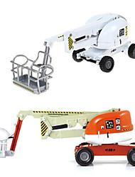 Недорогие -KDW Детские пластик ABS Cherry Picker Игрушечные грузовики и строительная техника / Игрушечные машинки Игрушки на солнечных батареях 1:74