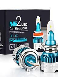 Недорогие -Автомобильная фара светодиодная h7 h27 h11 h8 h1 h3 9005 9006 hb3 hb4 авто фара автомобильная лампа 54 Вт 6000lm 6000 К светодиодная 12 В