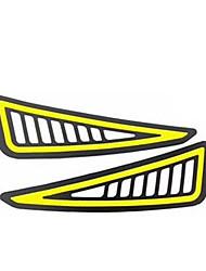 billige -2stk / mye bil styling drl cob led lampe fleksibel drl universal kjørelys bil kjørelampe blinklys drl cob vanntett 12v