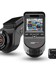 Недорогие -Junsun S590-S 4K 2160P Ultra HD Автомобильный видеорегистратор рекордер с двумя объективами видеорегистратор встроенный GPS-трекер камера ночного видения с 1080p 170 камера заднего вида