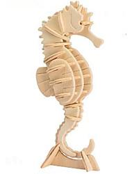Недорогие -Robotime 3D пазлы Пазлы Наборы для моделирования Своими руками деревянный Натуральное дерево Классика Детские Универсальные Игрушки Подарок