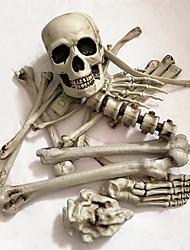 Недорогие -19 шт. Набор кости мешок скелет и скелет статуи ужасов скульптура смола хэллоуин рождество новый год украшения