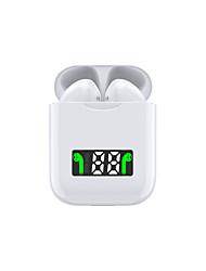 Недорогие -i99 tws беспроводные наушники с шумоподавлением наушники со светодиодным дисплеем гарнитура поддерживает беспроводную зарядку с микрофоном