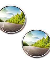Недорогие -вид сзади толкающего автомобиля маленькое круглое зеркало большое зрение задний ход помогает слепое пятно автомобильные аксессуары задний ход