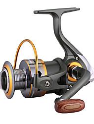 Недорогие -Катушки для спиннинга Спиннинговые катушки / Электрический катушка Передаточное число+3 Шариковые подшипники Рука Ориентация Заменяемый Обычная рыбалка - 4000