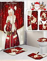 Недорогие -1 комплект На каждый день / Modern Коврики для ванны / Коврики для ванной Нетканые / Пена с памятью / Коралловый Абстракция 5mm Ванная комната Противоскользящий / Новый дизайн