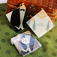 Bride and Groom Coasters (Set of 2) Coaster Favors Wedding Party