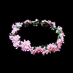 Femei Fata cu Flori Hârtie Diadema-Nuntă Ocazie specială Flori