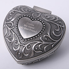 cheap Bride Gifts-Personalized Vintage Tutania Heart Design Jewelry Box Elegant Style