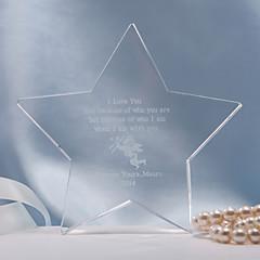 billige Kakedekorasjoner-Kakepynt Personalisert Krystall Bridal Shower / Jubileum / Bryllup Gavepose