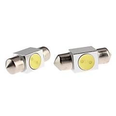 billige Interiørlamper til bil-31mm Bil Elpærer Høypresterende LED 70-90 lm LED interiør Lights For Universell
