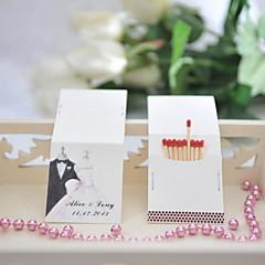 Kartong Bryllupsdekorasjoner-25Stykke/Sett Personalisert Fyrstikker er ikke inkludert.
