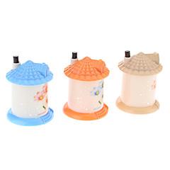 billige Eggeverktøy-Hus Shaped Automatisk tannpirker dispenser Holder (tilfeldig farge)