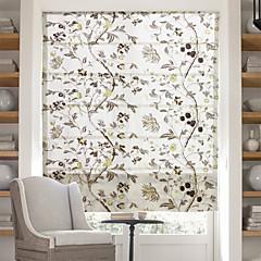 tanie Akcesoria okienne-Chiński kwiatowe obrazy rzymski odcień żakardowe