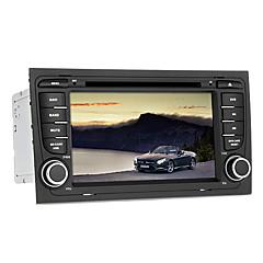 billiga DVD-spelare till bilen-7 tum Windows CE 5.0 GPS / iPod / RDS för Audi Stöd / 3D-gränssnitt / SD / USB-stöd / FM-sändare / DVD-R / RW / DVD+R / RW