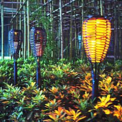 1PCS Super Bright LED geel waterdicht op zonne-energie Tuin Lamp