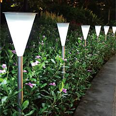 1PCS Super Bright LED Modern RVS Solar Garden Light