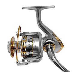 Spinning Reel / Fishing Reel 4.7:1 12 Ball Bearings Spinning Reels Sea Fishing / Bait Casting / Freshwater FishingRight-handed /