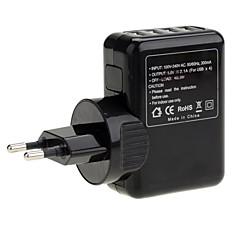 ユニバーサルトラベル4 - USBポートのAC電源充電アダプタ