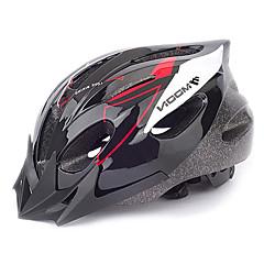 baratos Capacetes de Ciclismo-MOON Capacete de bicicleta 16 Aberturas CE Certificação meia cuia PVC, EPS Ciclismo de Estrada / Ciclismo de Lazer / Ciclismo / Moto