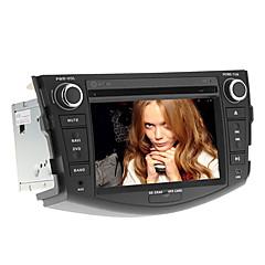 billiga DVD-spelare till bilen-7 tum Windows CE 6.0 GPS / Pekskärm / Inbyggd Bluetooth för Toyota Stöd / iPod / RDS / Rattstyrning / Subwoofer-utgång / Spel