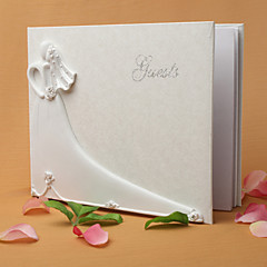 cheap Wedding Ceremony-Guest Book Resin Polyester Garden Theme Guest Book