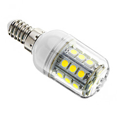 رخيصةأون إضاءة الديكور-1PC 3 W 350-400 lm E14 أضواء LED ذرة T 27 الخرز LED مصلحة الارصاد الجوية 5050 تخفيت أبيض كول 220-240 V