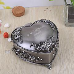 tanie Prezenty dla Panny Młodej-prezenty druhna prezent spersonalizowane biżuteria polu w kształcie serca tutania rocznika