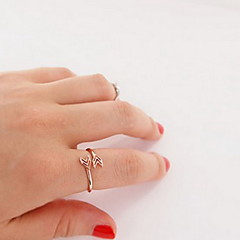 Women's Band Rings Love Heart Costume Jewelry European Alloy Jewelry For Party Daily Casual
