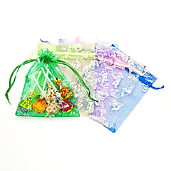 Creative Organza Favor Holder With Ribbons Favor Bags-12 Wedding Favors