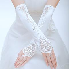 Tule Ellebooglengte Handschoen Bruidshandschoenen Feest/uitgaanshandschoenen