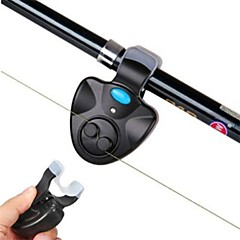 Bite Alarm / Fishing alarm  Fish Bite Rod Electronic LED Light Sound Alarm Alert Bell Clip On Fishing Rod BlacK