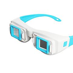 分割画面のコンピュータの側の3Dメガネによるreedoon側