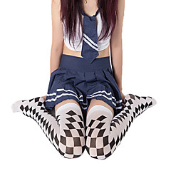 Socks/Stockings Punk Lolita Lolita Lolita Lolita Accessories Stockings Print For Polyester