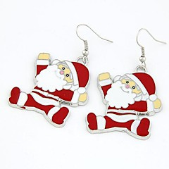 Weihnachten Weihnachtsmann Ohrringe