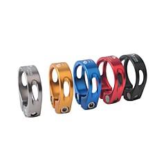お買い得  自転車パーツ&コンポーネント-シートポストクランプ マウンテンバイク サイクリング アルミニウム合金 - シルバー / レッド / ブルー