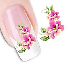 Water Transfer  Printing  Nail Stickers XF1023