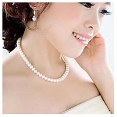 Женское ожерелье, с искусственном жемчугом