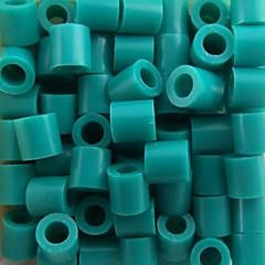 aproximativ 500pcs / sac lac 5mm albastru margele Perler margele de siguranțe margele HAMA DIY puzzle eva safty materiale pentru copii