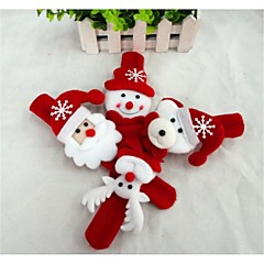 Christmas Gifts Christmas Toys Slap Armband Toys Snowman Cute Santa Claus Kid's Kids' 1 Pieces