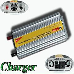 meind® ממיר מתח 1000W עם DC 12V המטען לm1000cd אספקת חשמל ממירי מכונית ממיר ac 220v