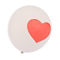 Pallot Ilmapallot Sydämenmuotoinen