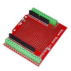 رخيصةأون -robotale درع بروتو المسمار تجميعها لاردوينو - أحمر