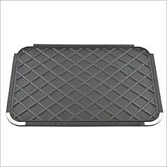carro gel de silicone auto painel anti-derrapante tapete almofada preta