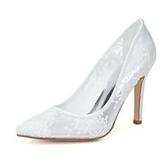 Dame - Pantofi de nunta - Vârf Ascuțit - Pantofi cu Toc - Nuntă / Party & Seară - Negru / Roz / Roșu / Fildeș / Alb